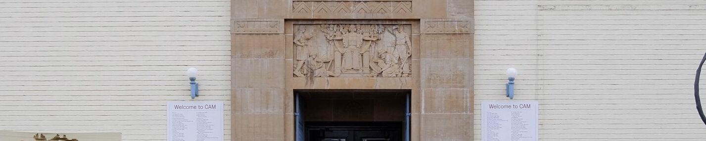 Castlemaine Art Museum Building facade, photo by Adrian Thia