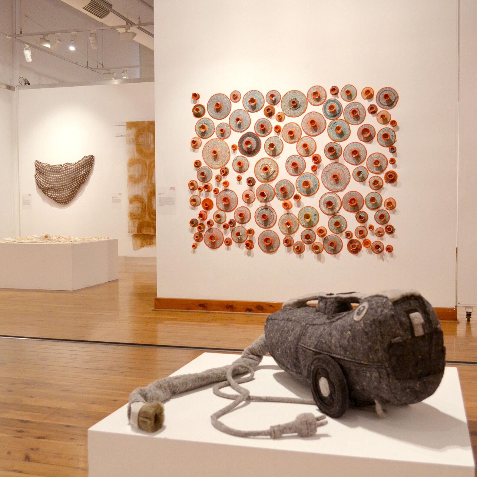 The Wangaratta Contemporary Textile Award 2017, install, Gallery 1, Wangaratta Art Gallery