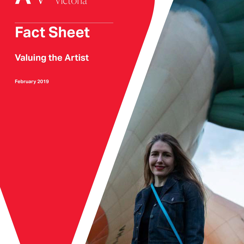 PGAV Fact Sheet Valuing the Artist Cover