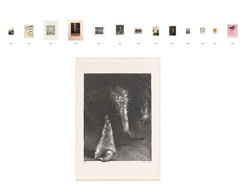 Mornington Peninsula Regional Gallery,13 works spanning the 40 year career of print-maker Rosie Weiss.