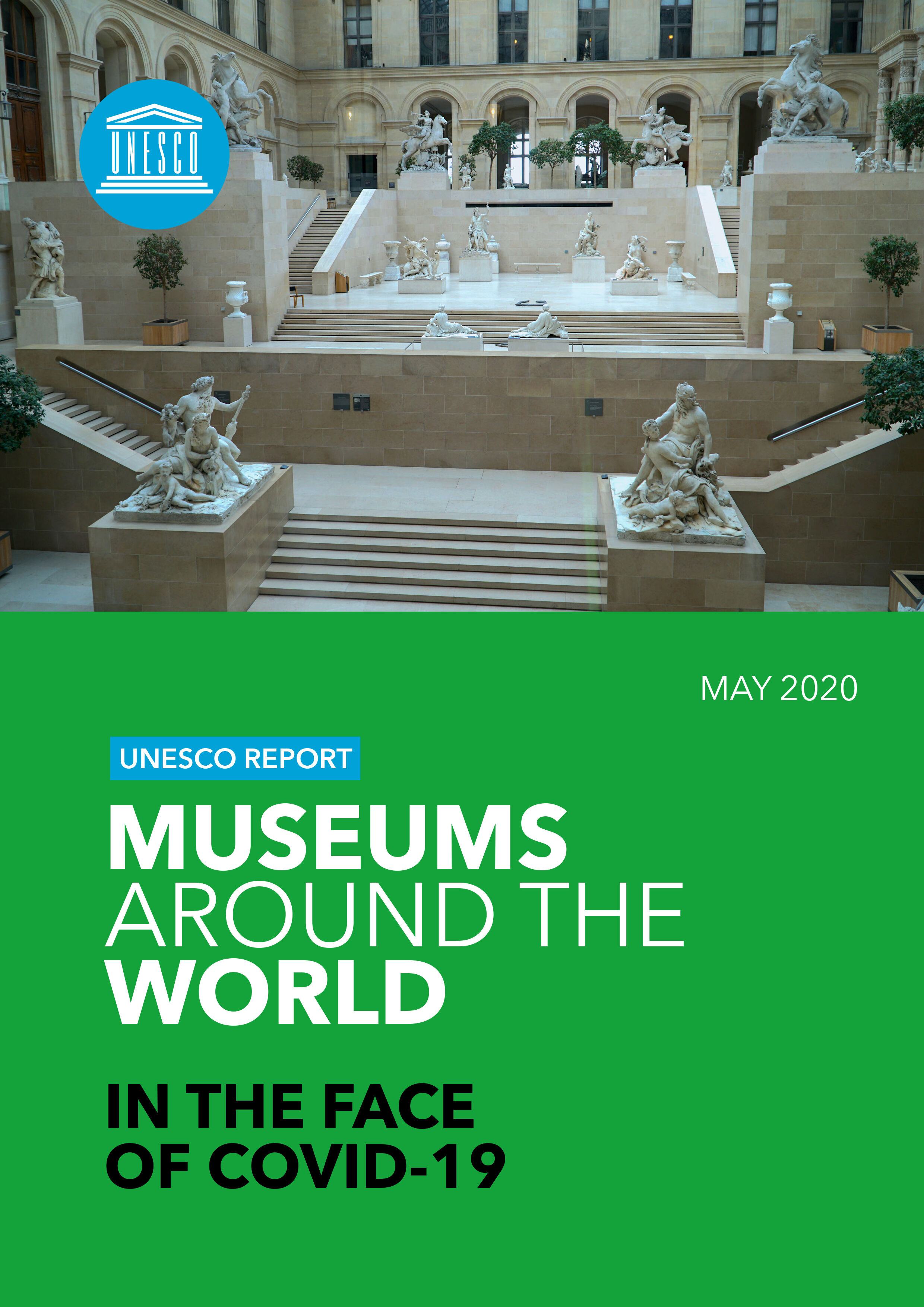 REPORT Cover - Museums Around the World in the Face of COVID-19 - May 2020 (UNESCO)