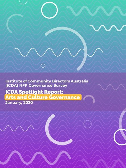 Arts & Culture Governcance Spotlight report cover