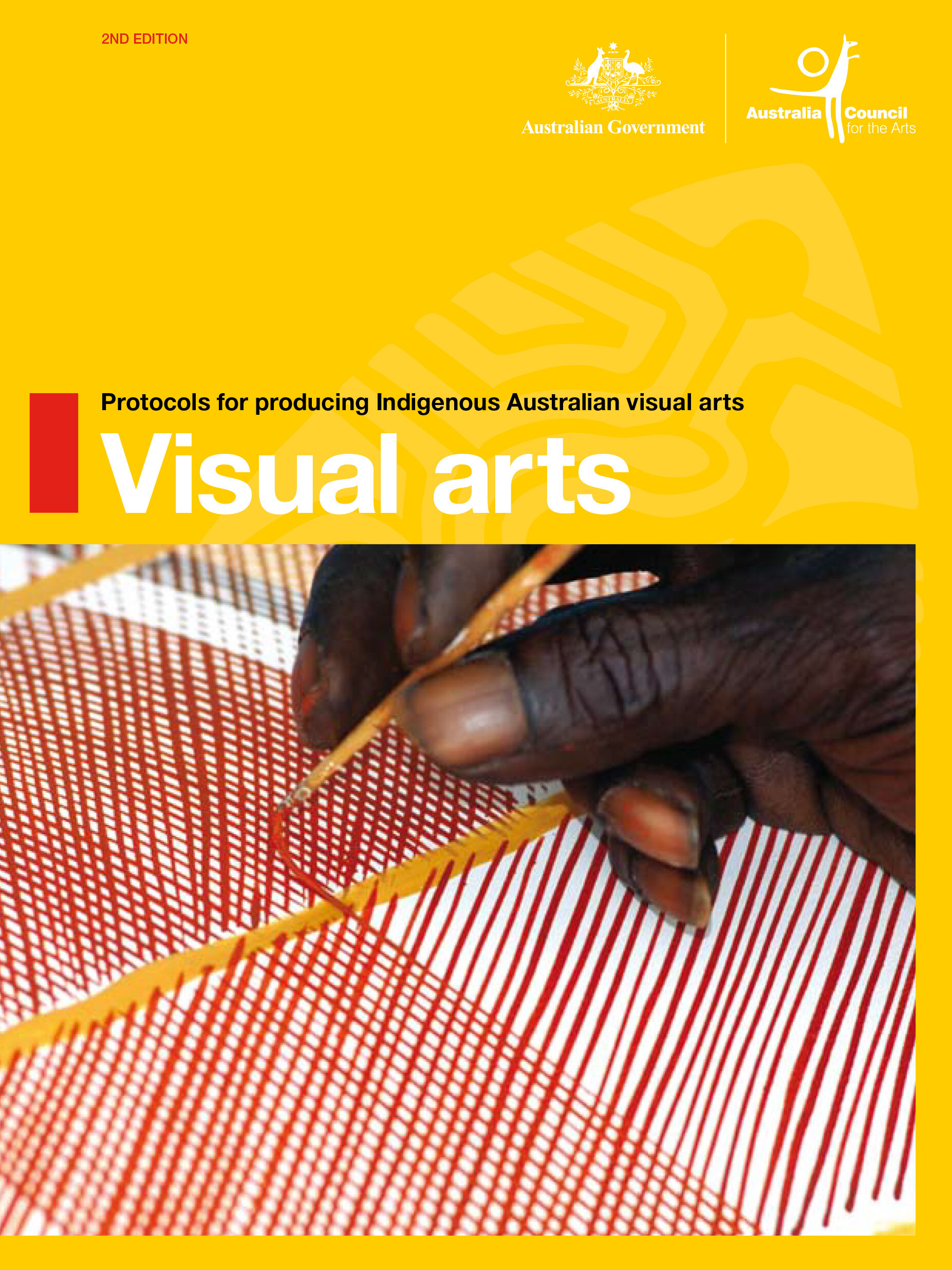 REPORT Industry cover, Protocols Indigenous Visual Arts-1