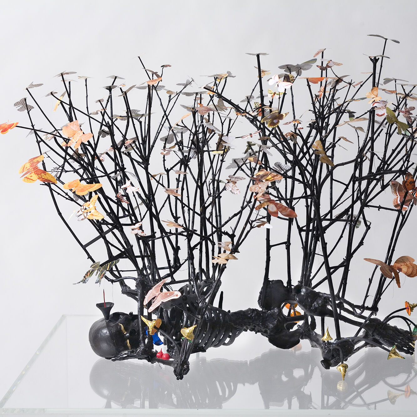 Peter MADDEN Sleep with Moths II 2008 Mixed media 58 x 76 x 66cm Collection Gippsland Art Gallery Donated by Janie Michell through the Australian Government Cultural Gifts Program
