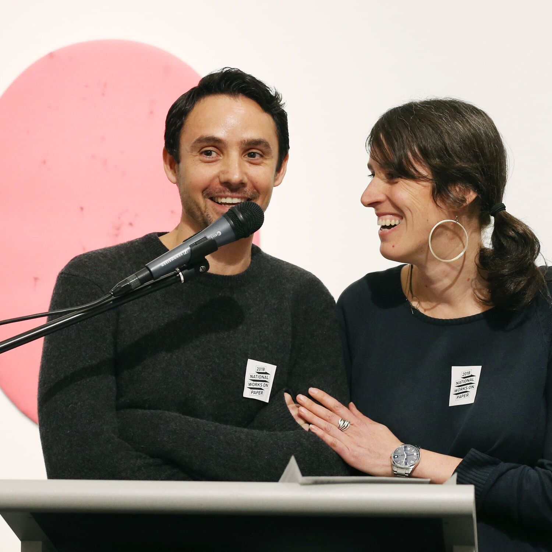 The $15,000 Mornington Peninsula Shire / Beleura - The Tallis Foundation major acquisitive award winners James Tylor & Laura Wills