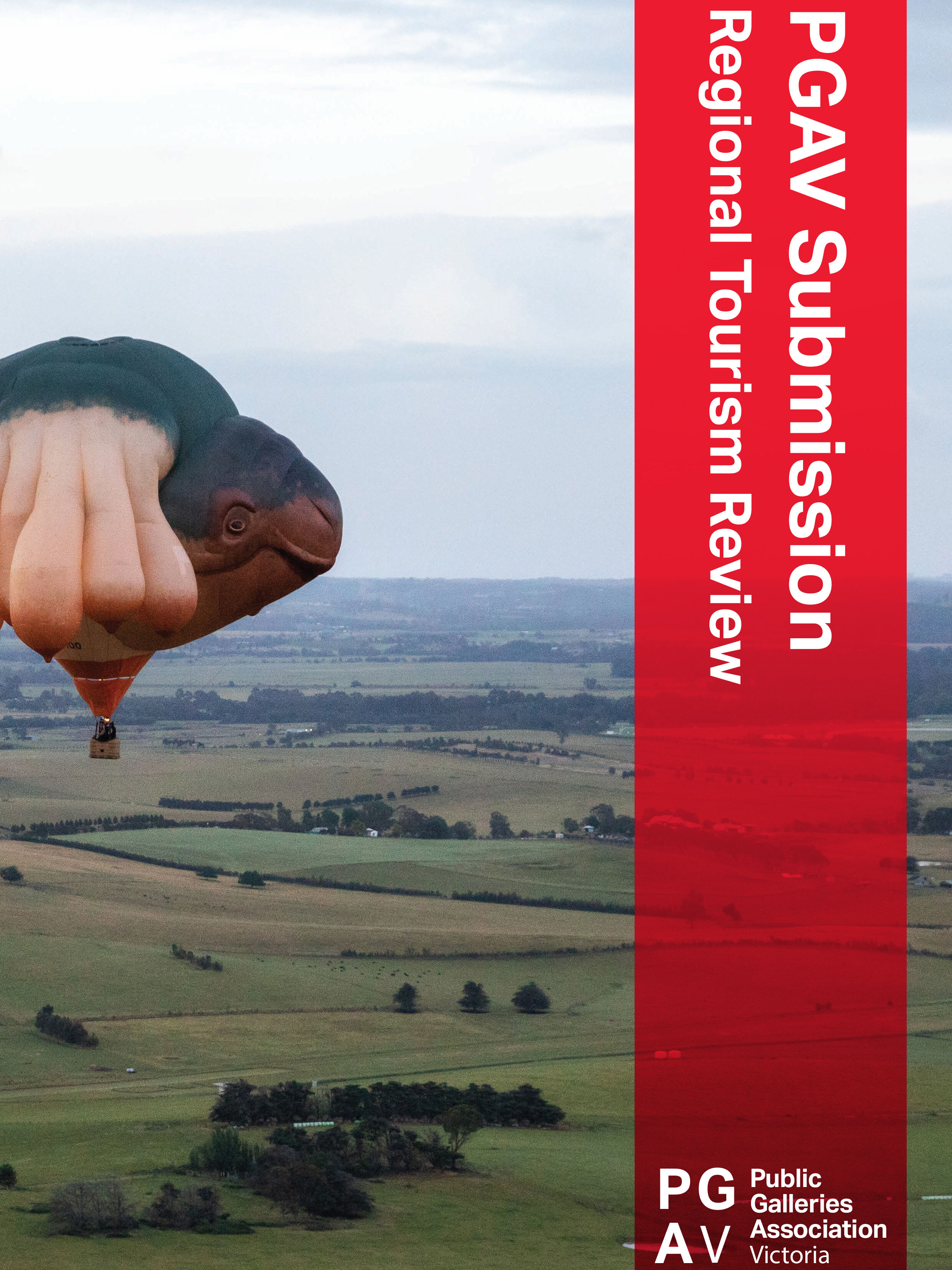 PGAV Regional Tourism Review Submission - COVER