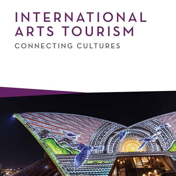 REPORT Industry Cover, International Arts Tourism