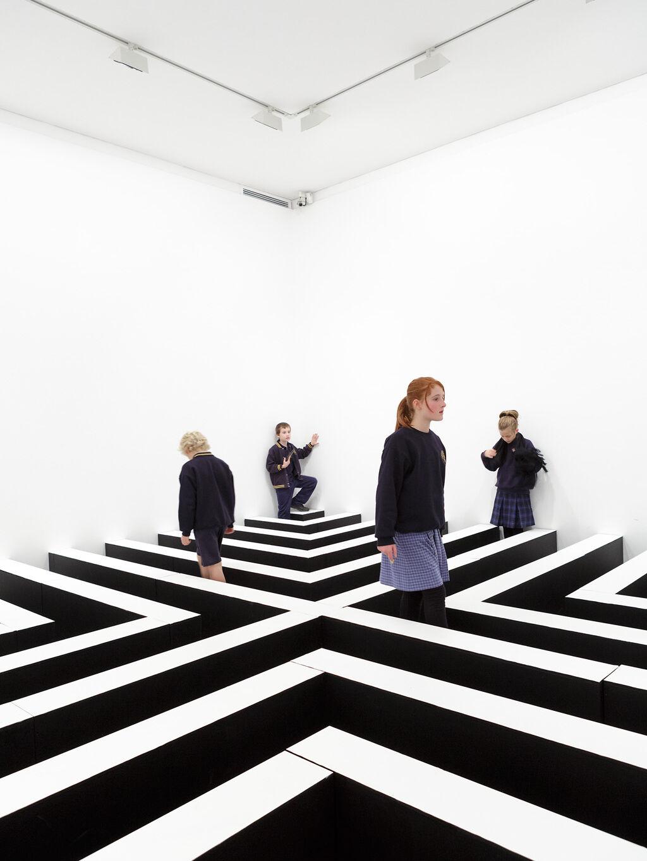 Education week at Heide Museum of Modern Art. Photograph: Jeremy Weihrauch