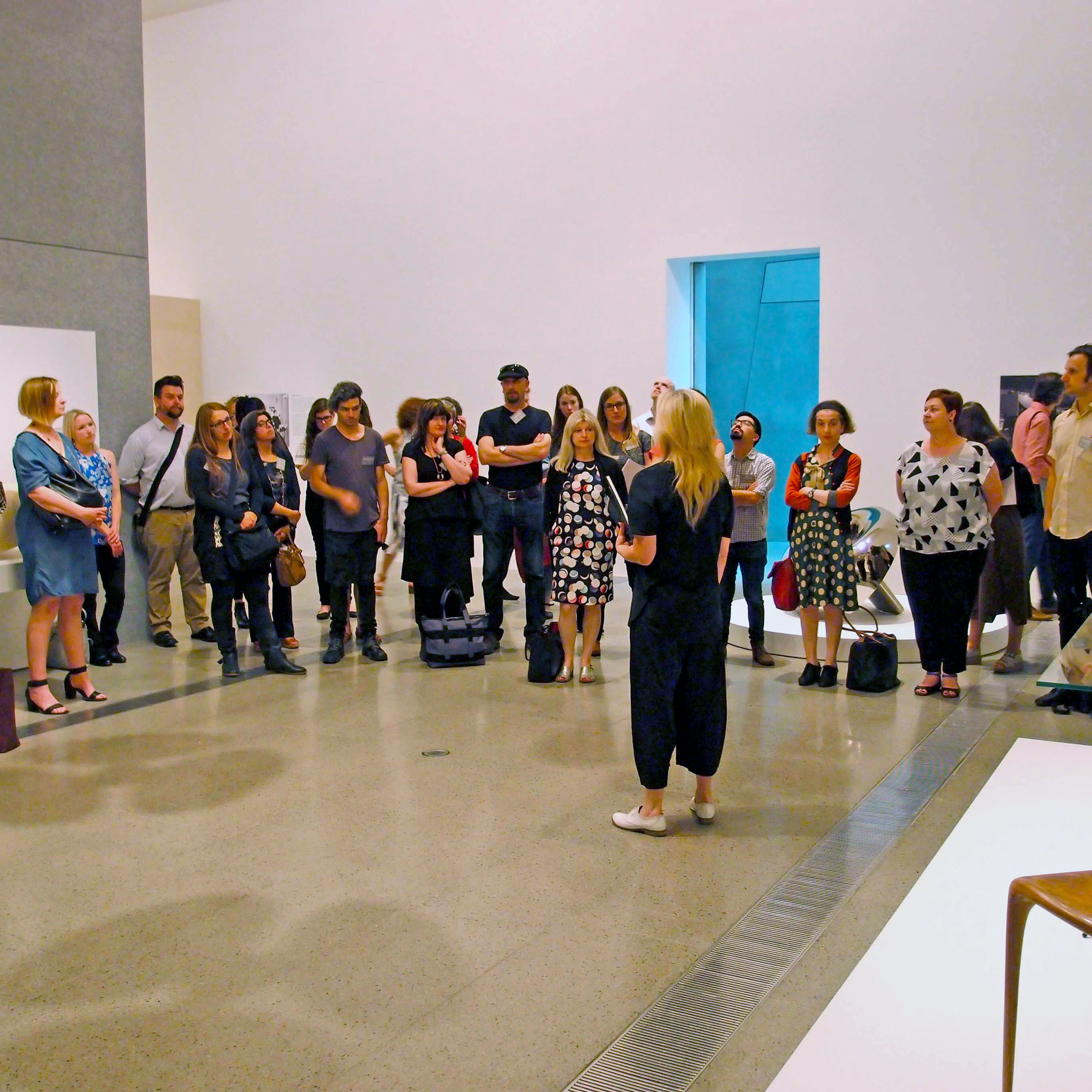 Tour of the Rigg Design Prize at the National Gallery of Victoria as part of the PGAV Curatorial Intensive 2015.