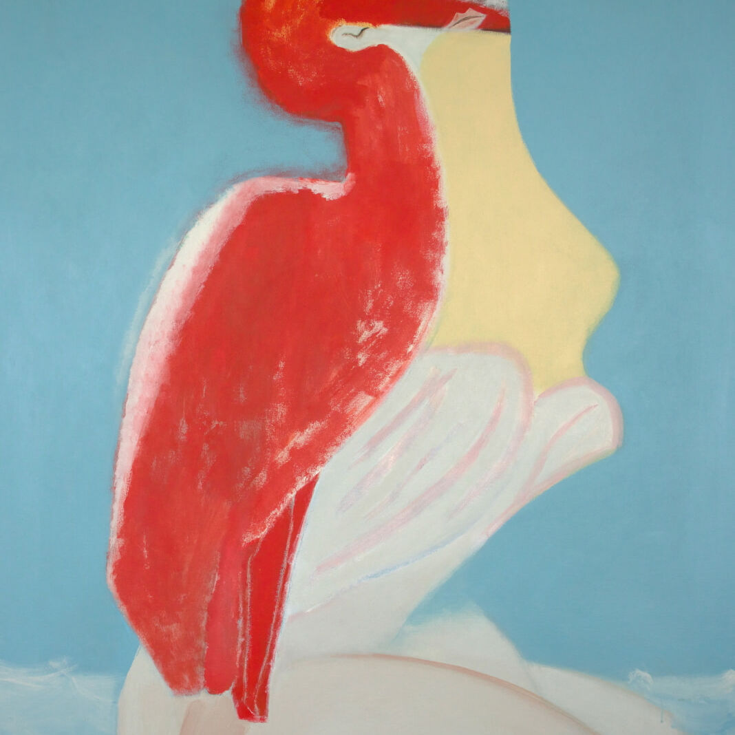 Stacey REES Delirium 2021 acrylic on canvas_ lower res.- Cherish at HRAG
