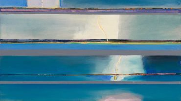 Lightning Storm, Waratah Bay,1971-72 Oil on canvas 91.5 x 127cm Collection National Gallery of Australia. Gift of Lyn Williams AM 2015. Donated through the Australian Government's Cultural Gifts Program