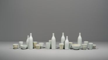 Installation view, An Idea Needing to Be Made: Contemporary Cermaics featuring works by Gwyn Hanssen Pigott, Heide Museum of Modern Art. Melbourne. Photograph: Christian Capurro
