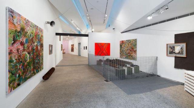 Installation view, George Egerton-Warburton, 2019. Heide Museum of Modern Art, Melbourne Photograph: Christian Capurro