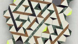 Hiroe Komai, Network, 2014, approx.29cmx20cm, paper, vinyl, pencil