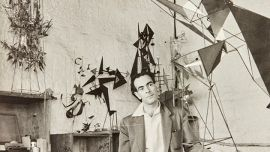 Image: John Pearson Robert Klippel in his Potts Point workshop from the Robert Klippel archive 12 April 1957 National Art Archive   Art Gallery of New South Wales. Gift of Andrew Klippel 2017 © Robert Klippel Estate © John Pearson Photo: AGNSW