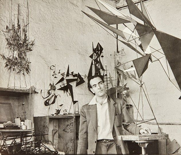 Image: John Pearson Robert Klippel in his Potts Point workshop from the Robert Klippel archive 12 April 1957 National Art Archive | Art Gallery of New South Wales. Gift of Andrew Klippel 2017 © Robert Klippel Estate © John Pearson Photo: AGNSW