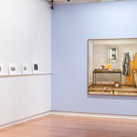 'Collection leads: John Scurry—small paintings' installation view. Geelong Gallery, 2019. Photo: Andrew Curtis