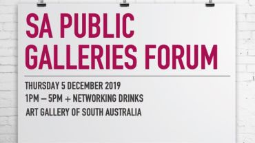 SA Public Galleries Forum