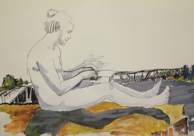 Todd Fuller, Ode to Clarence, 2017/18, mixed media animation on paper, 6:42 min. Winner of the 2018 JADA.