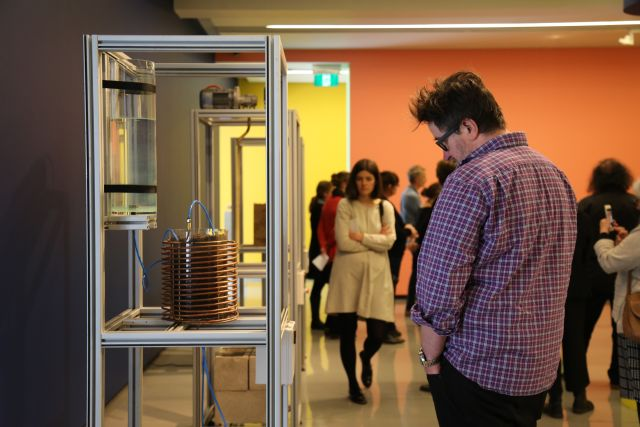Participations viewing 'Future Eaters' as part of 'Critical and Creative Thinking and the Visual Arts', Professional Development with Art Education Victoria (AEV)