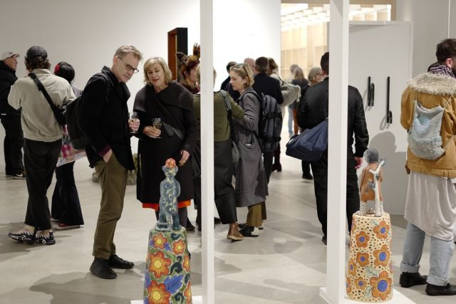 Craft Victoria, Open Door- Contemporary Makers and Designers (opening event), 2019. Curated by Julie Ewington. Photography Thomas Lentini.