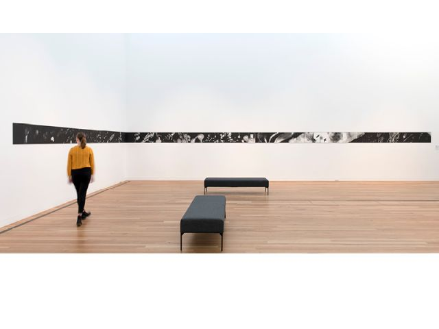 Gippsland Art Gallery, Australia Phoenix: A Cosmology, a large format photographic collage by Susan Purdy.