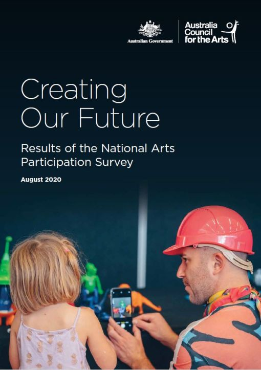 Creating our Future - National Arts Participation Survey (Australia Council) Cover