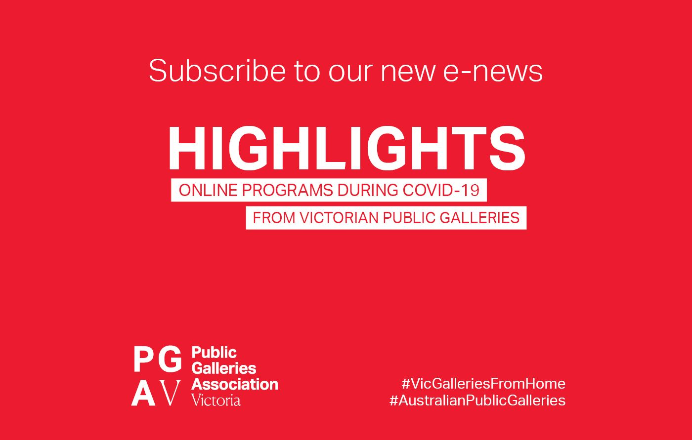 Highlights NewsletterSubscribe website