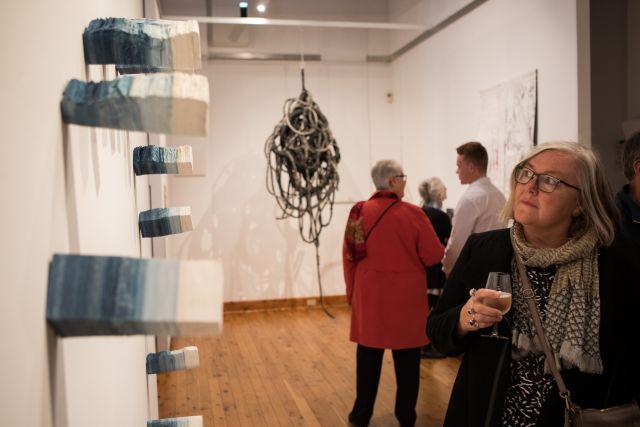 The Wangaratta Contemporary Textile Award 2019, Opening event, Gallery 1, Wangaratta Art Gallery