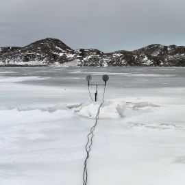 47.-Philip-Samartzis-recording-at-Watts-Hut-Eastern-Antarctica-2010.-Courtesy-the-artist