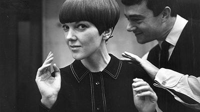 Mary Quant and Vidal Sassoon, 1964. © Trinity Mirror / Mirrorpix / Alamy Stock Photo