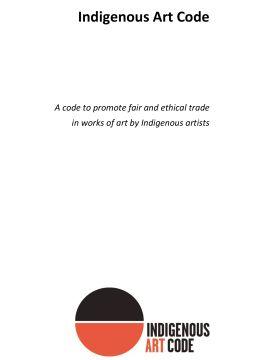 Indigenous Art Code Cover