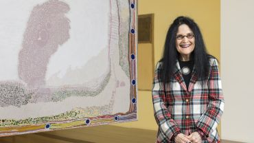 Judith Ryan AM, Senior Curator of Indigenous Art, National Gallery of Victoria. Photo: NGV.