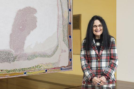 Judith Ryan AM, Senior Curator of Indigenous Art, National Gallery of Victoria. Photo: NGV.