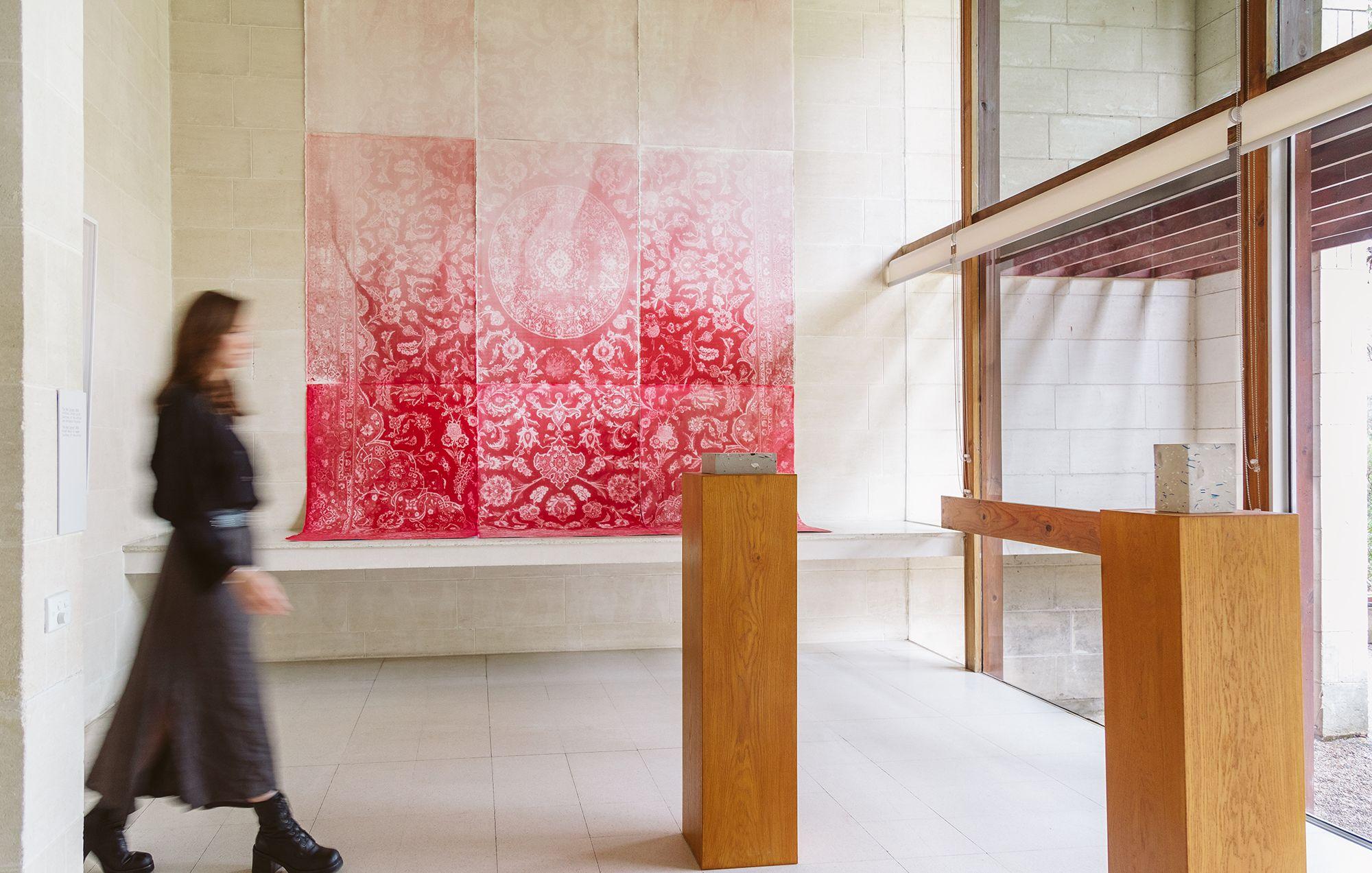 Installation view of the exhibition 'Stanislava Pinchuk: Terra Data' at Heide Museum of Modern Art, 20 March 20 June 2021. Photo by Clytie Meredith.