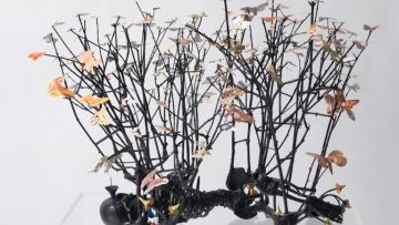 EXHIBITION Gippsland Art Gallery Peter Madden, Sleep with moths II 2008, 768x536
