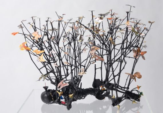 EXHIBITION Gippsland Art Gallery Peter Madden, Sleep with moths II 2008, 768x536