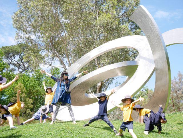 GALLERY Heide_Children's Week at Heide, 2016. Yarralinda School