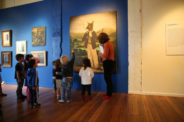 Arty Tales, Incy Wincy Babies program at Incinerator Gallery, 2017