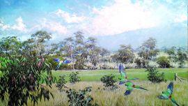 Under the Sky exhibition, Philip Adams