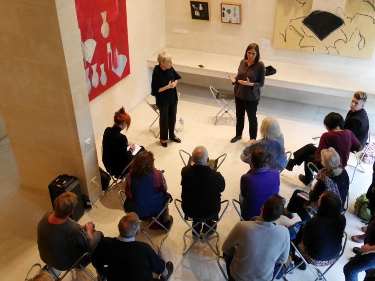 Heide Art Talk with Denise Green and curator Linda Michael for the exhibition Denise Green: The Heide Collection at Heide Museum of Modern Art, 2017.