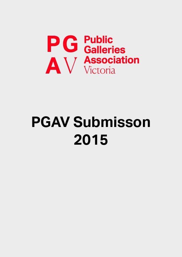 REPORT PGAV Submission 2015