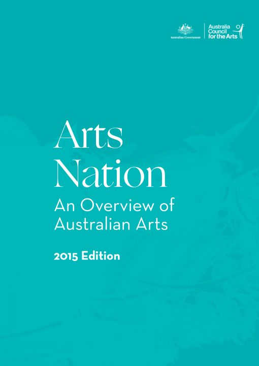 REPORT Industry cover, Arts Nation Oct 2015-1