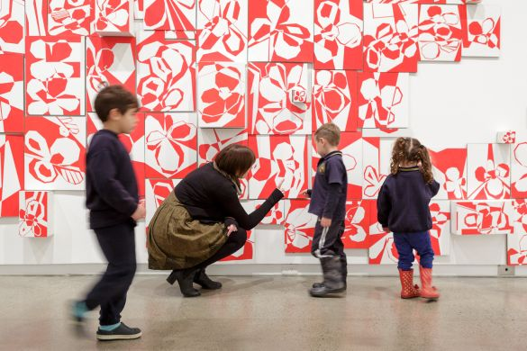 Education week at Heide Museum of Modern Art. Photograph: Jeremy Weihrauch