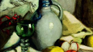 Agnes Goodsir (1864–1939), Still Life, nd, 46 x 38 cm. Warrnambool Art Gallery Collection.