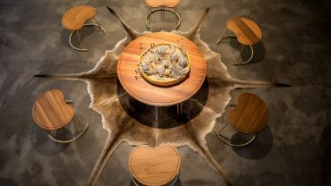 Nicole Monks, Marlu Collection, 2015. Created for the Australian Design Centre. Photographer: Boaz Nothman.