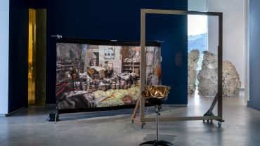 TarraWarra Biennial 2018: From Will to Form installation view of Claire Lambe's work, Witnessing Bacon 2018
