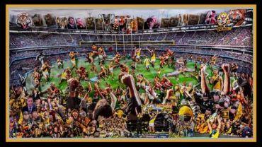 Harry Elkus, Richmond Football Club 2017, AFL Premiers C3D Diorama