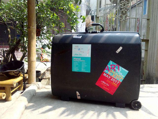 Image caption: Hoa Nguyen, Travelling Exhibition, digital image, Hanoi, Vietnam