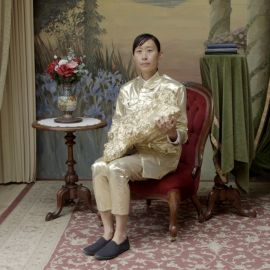 Eugenia LIM Yellow Peril 2015 Single HD video: colour, sound | 17 minutes and 55 seconds. Image  courtesy of the artist.